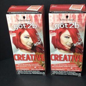 Schwarzkopf Got 2b Luxurious Red #092 Colour Cream